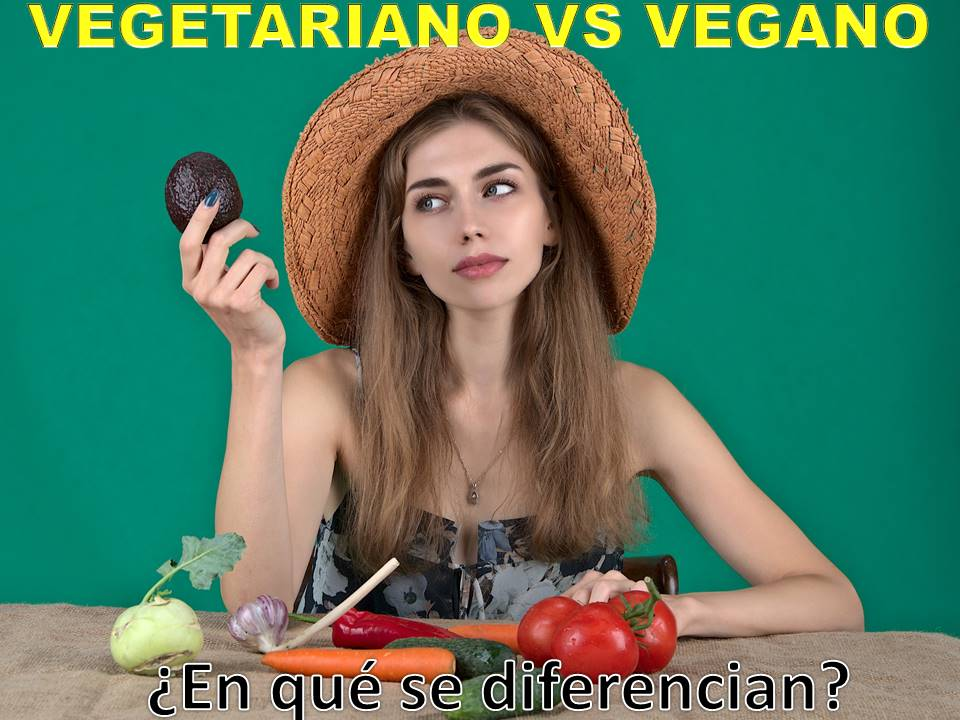 ¿Cuál es la diferencia entre vegano y vegetariano?
